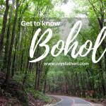 TRAVEL: Bohol, Philippines