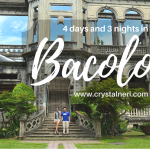 4 Days In Bacolod, Philippines And Married life