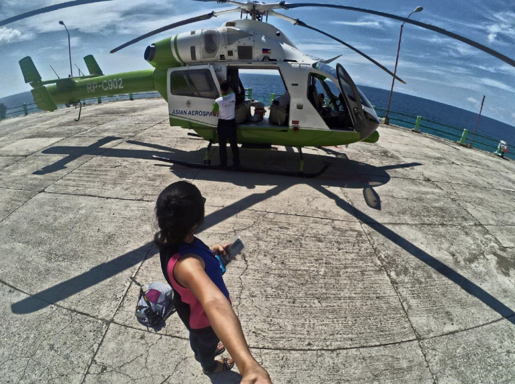 Helicopter Ride To Oslob's Whalesharks (Cebu, Philippines)