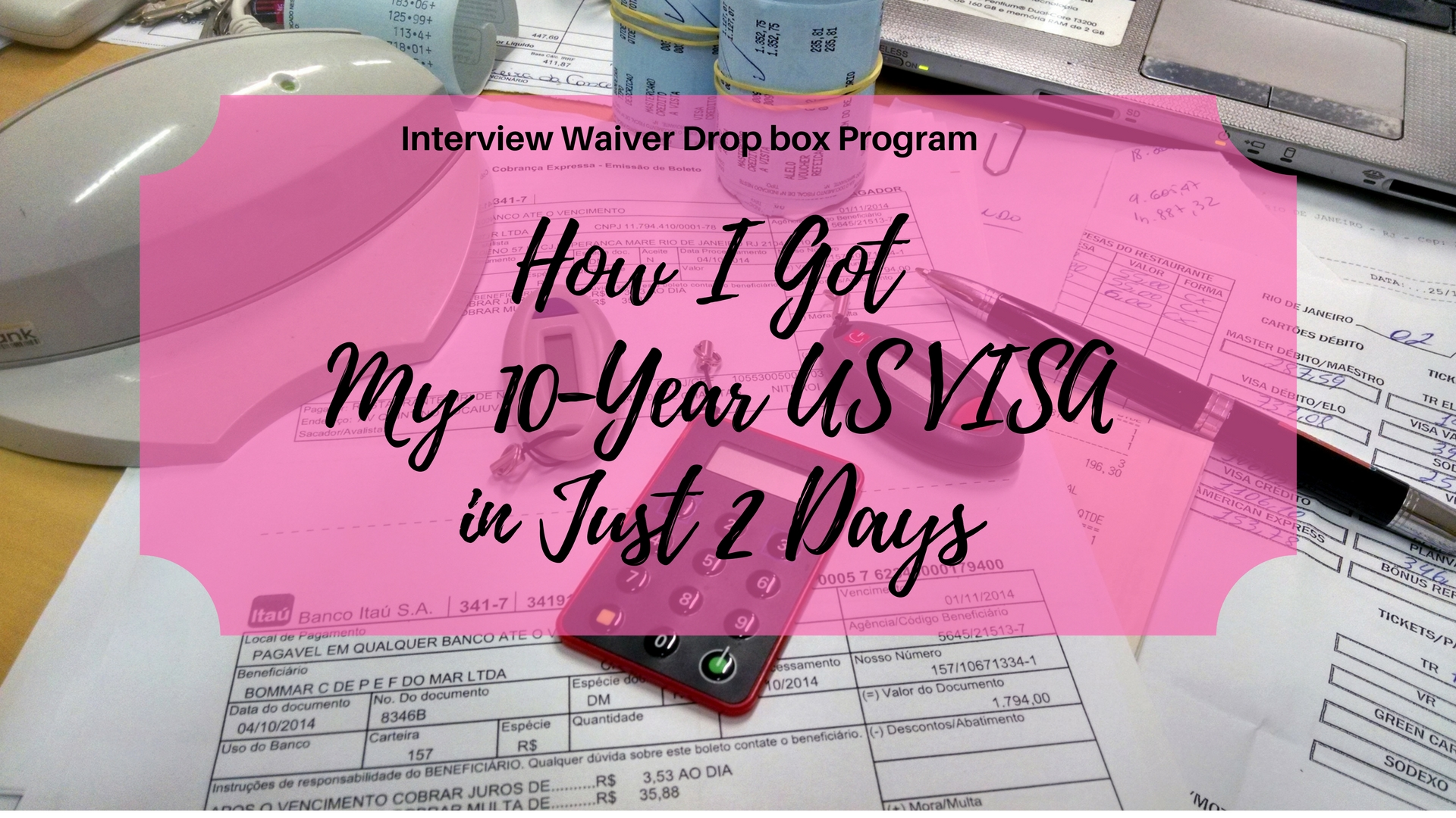 Crystal Neri | How I Got My 10-Year US VISA In Just 2 Days - Crystal